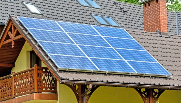install solar panels home